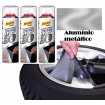 Envelopamento Spray Plasti Dip - Alumínio Metálico Cromado