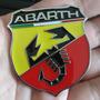 Emblema Metal Abarth - Punto Palio Linea Uno Fiat 500