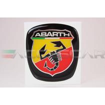 Kit Básico De Adesivos Abarth P/ Fiat Bravo