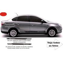 Adesivo Fiat Grand Siena Kit Acessórios Tuning / Não É Friso
