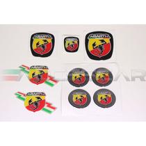 Kit Nº7 Adesivos Abarth P/ Fiat Bravo