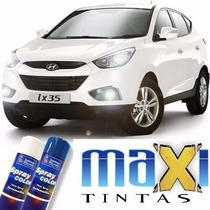 Tinta Spray Automotiva Hyundai Branco Polar + Verniz 300ml