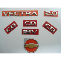 Kit Emb Vectra + Cd + 2.0 + 16v + Gravata Mala Dourada - Mmf