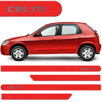Jogo Friso Lateral Celta 07 08 09 10 11 12 13 14 15 Vermelho