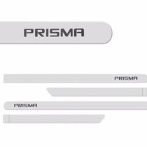 Jogo Friso Lateral Prisma 2013 2014 2015 - Branco Summit