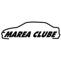 Adesivo Decorativo Parabrisa Carro Club - Marea Clube