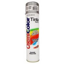 Tinta Spray Aluminio P/ Rodas Uso Geral Chemicolor 400ml