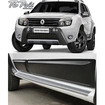 Kit Friso Lateral Renault Duster Cinza Tgpoli 09.038