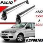 Rack De Teto P/ Fiat Palio G1 Ao G4( 1996 A 2011 ) 02 Portas