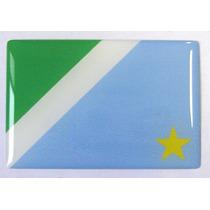 Bandeira Estado Do Mato Grosso Do Sul Brasil 6x4cm - Bre