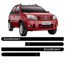 Friso Lateral Da Porta Ecosport 2014 2015 Kit 4pçs