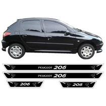 Jgo Soleiras Resinadas Leao Peugeot 206 Frete Gratis