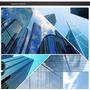 Pelicula De Controle Solar Espelhado Azul Bobina 0,75x7,5m