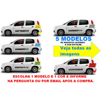 Kit Adesivo Sport Novo Uno Vivace 2 4 P/ Todos Mod. S/ Friso