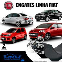 Engate Reboque Fiat Palio Novo / Uno / Siena / Grand Siena
