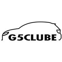 Adesivo Decorativo Parabrisa Carro Club - Gol G5 Clube