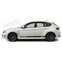 Kit Adesivos Laterais Subaru Impreza Wrx Za10 - 3m - Decalx