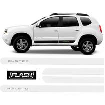 Kit De Frisos Personalizados Duster 2011 A 2016 Branco