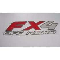 Adesivo Fx4 Off Road Para Ford F-250 Americana 04/... - Bre