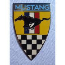 Escudo Placa Carro Emblema Esmaltada Original Antiga