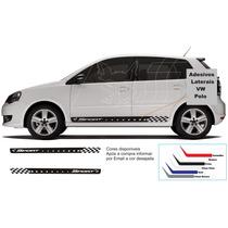 Adesivos Vw Polo Kit Faixas Laterais Sport Tuning Carros