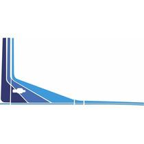 Faixa Decorativa Mercedes-benz Mb 709 / 912 / 1618 Azul