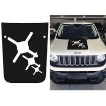 Adesivo Capô Jeep Renegade Fosco - Trailhawk X Design