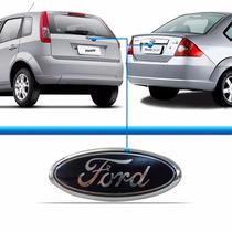Emblema Ford Tampa Porta Malas Fiesta Ka Original Ford