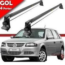 Rack De Teto P/ Gol G2 / G3 / G4 ( Gol 4 Portas - 40 Kilos )