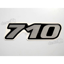 Adesivo Emblema Resinado Mercedes 710 Cm7 - Decalx