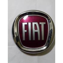 Emblema Fiat Vermelho Porta Malas Palio De 2004 A 2016 Fire