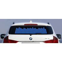 Painel Grafico Carro Sensor De Led Adesivo Equalizador Ritmo