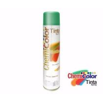 Tinta Spray Verde Metálica Chemicolor 400ml