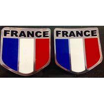 Emblema Bandeira França - Peugeot, Renault, Citroën