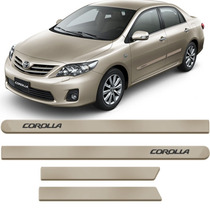 Friso Lateral Corolla 08 09 10 11 2012 2013 Bege Austral
