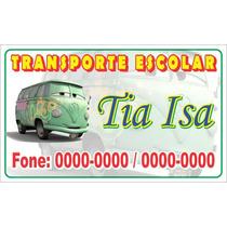 Adesivo Personalizado Propaganda Para Portas Carro Vans Taxi