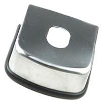 Tampa De Engate Para Reboque Inox 85mm (e1556) Com Garantia
