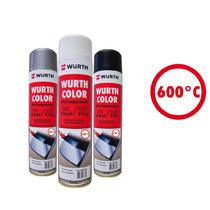 Wurth Tinta Spray Alta Temperatura Preto Fosco 315ml / 215g