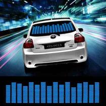 Carro Sensor De Led Veicula Equalizador Ritmo Painel Grafico
