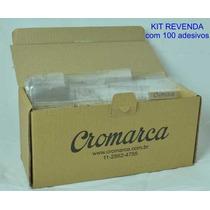 Kit Revenda 100 Adesivos Evangélicos
