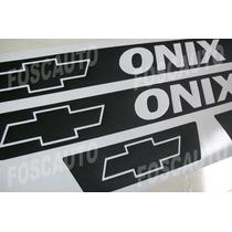 Kit Soleira Adesiva Onix - Super Esportiva P/ Chevrolet Onix