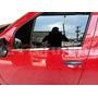 Kit Friso Cromado Resinado Base Das Janelas Renault Sandero