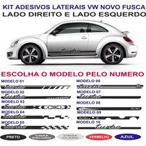 Acessorios Vw Novo Fusca Tsi Turbo Betle Adesivo Lateral