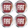 Logo Tipo Modelos Fiat P/ Calota Ou Roda 4 Peças 68mm