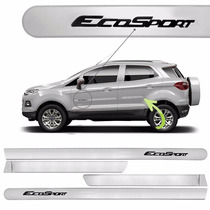 Friso Lateral Ford Ecosport 2013 A 2015 Prata Enseada *