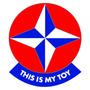 Adesivos Estrela Esse É Meu Brinquedo My Toy Volks Gol