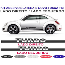 Acessorios Vw Novo Fusca Tsi Turbo Betle Adesivo Lateral Kit