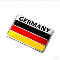 Adesivo Tuning 3d Germany - Alemanha - Alumínio