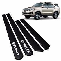 Friso Lateral Toyota Sw4 Preto Zafira Original