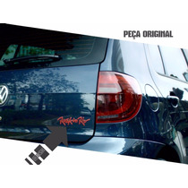 Emblema Rock In Rio Fox Traseira Original Volkswagen
